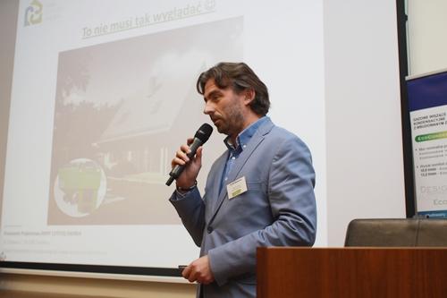 Sławomir Rataj, prezes spółki Domy Czystej Energii